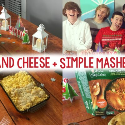 Baked Mac and Cheese + Simple Mashed Potatoes! thumbnail