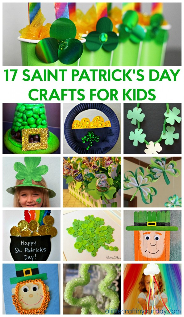 17 saint patrick 39 s day crafts for kids a little craft in for Crafts for little kids
