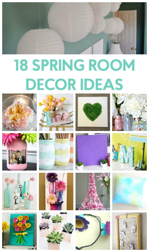 18 Spring Room Decor Ideas A Little Craft In Your Day
