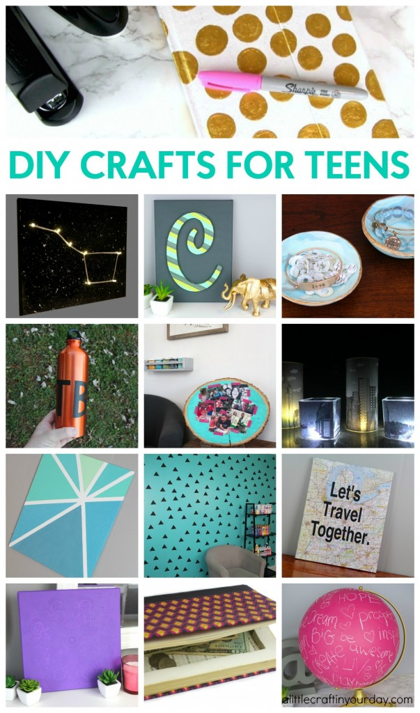 Diy crafts for teens a little craft in your day for Fun crafts for girls