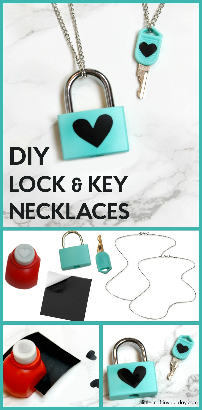 DIY_Lock_&_Key_Necklaces
