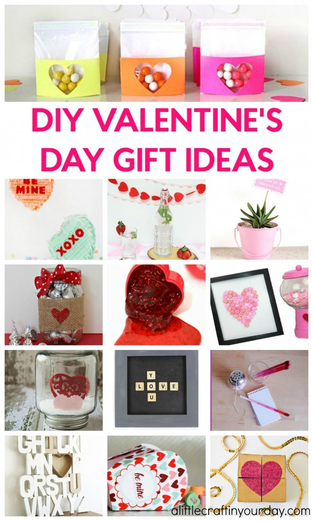 Diy valentines day gift ideas a little craft in your day for Crafts for valentines day ideas