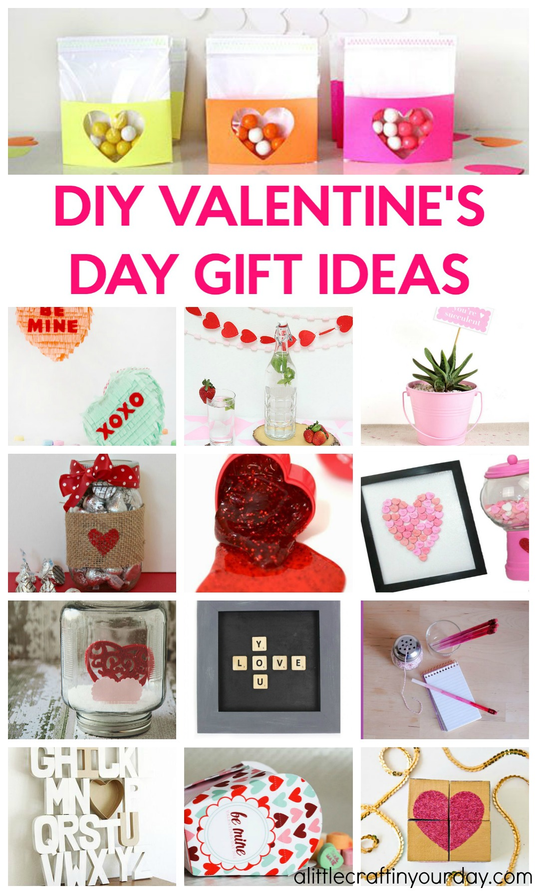 1/31 | DIY Valentines Day Gift Ideas