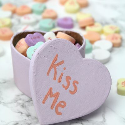 DIY Conversation Heart Treat Boxes thumbnail