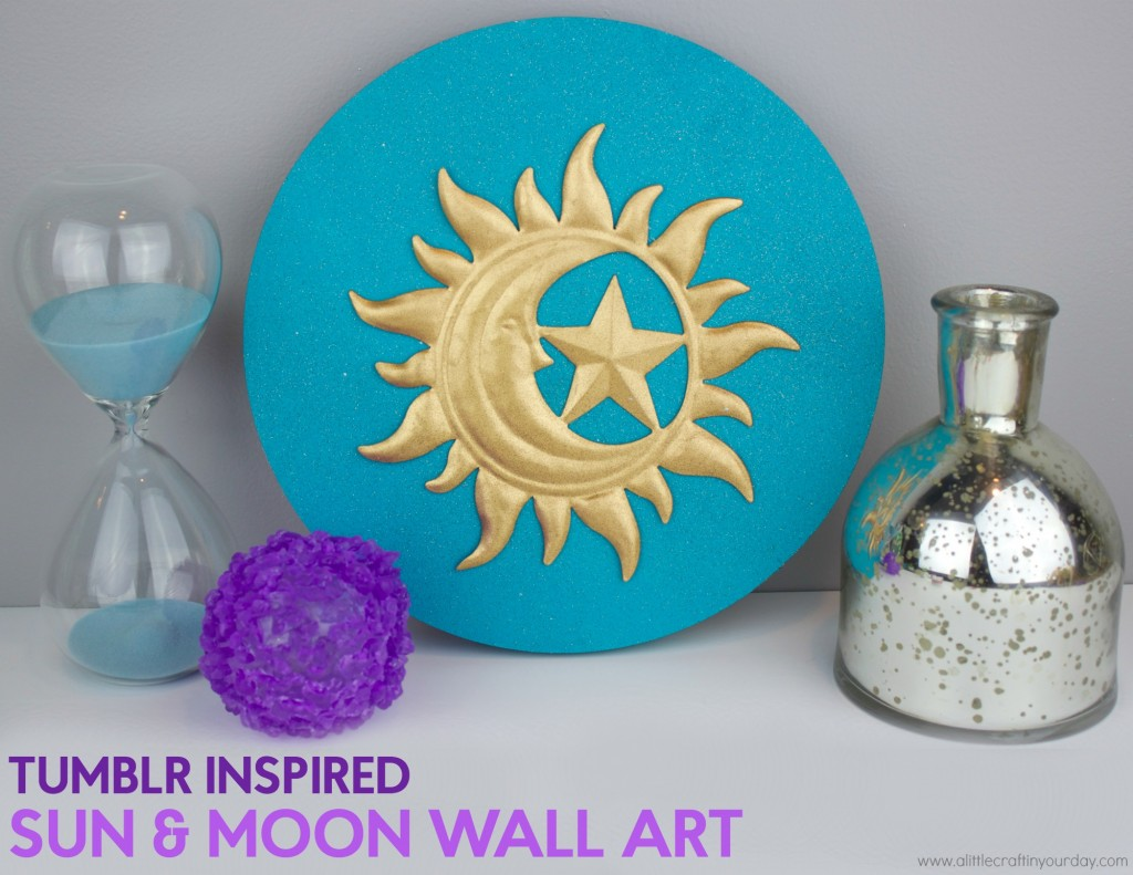 Tumblr_Inspired_Sun_and_Moon_Wall_Art