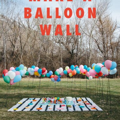 DIY Balloon Wall thumbnail