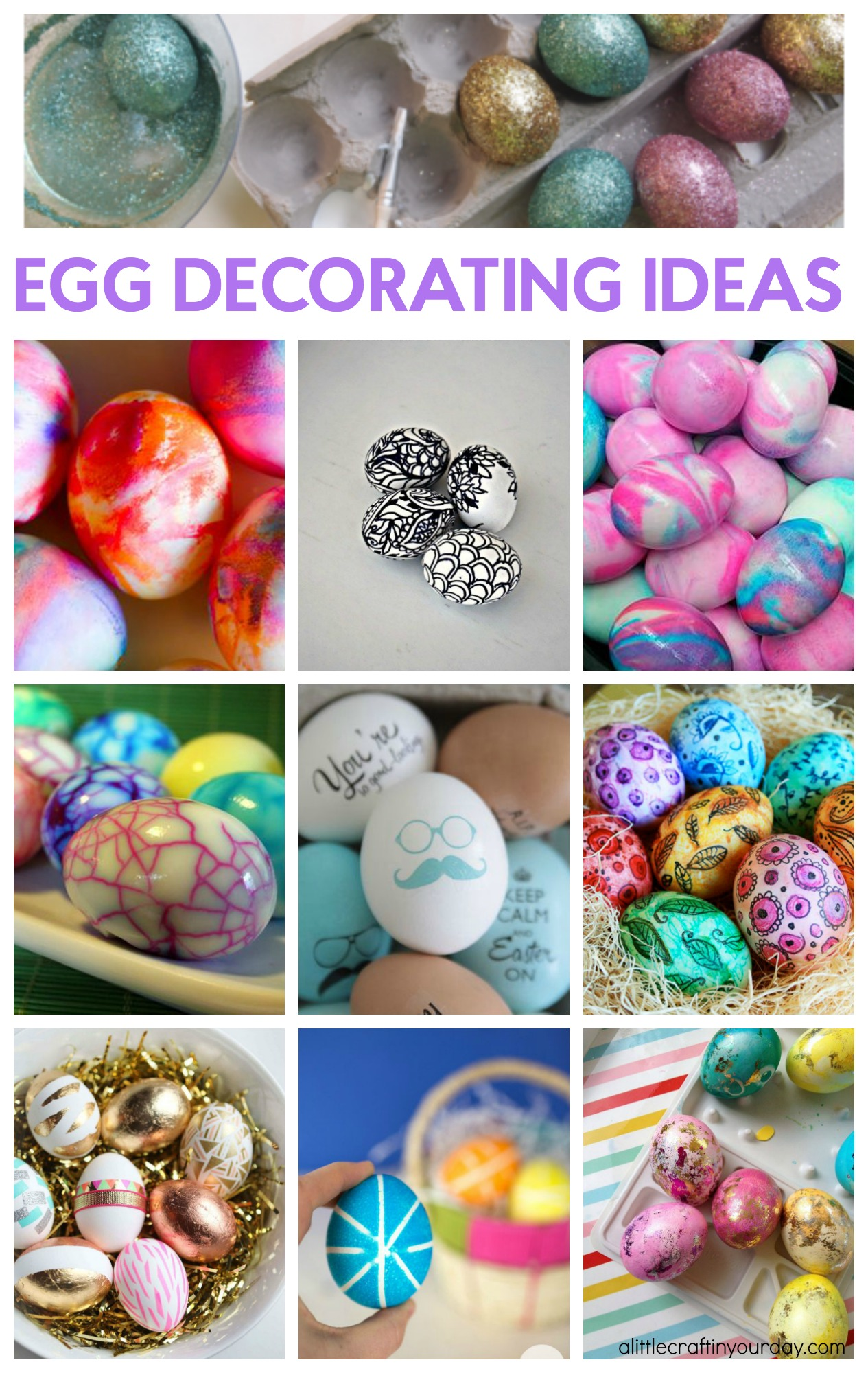 Easter Egg Decorating Ideas With Shaving Cream