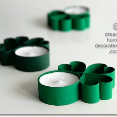 DIY Shamrock Candles thumbnail