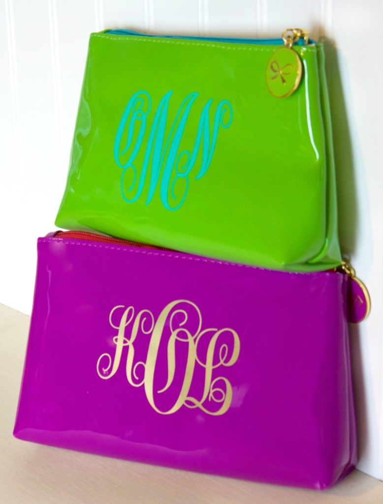 Diy Monogram Makeup Bag A Little Craft In Your Day