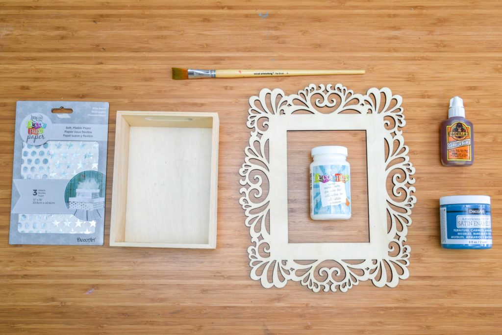 DIY Shadow Box Frames - A Little Craft In Your Day