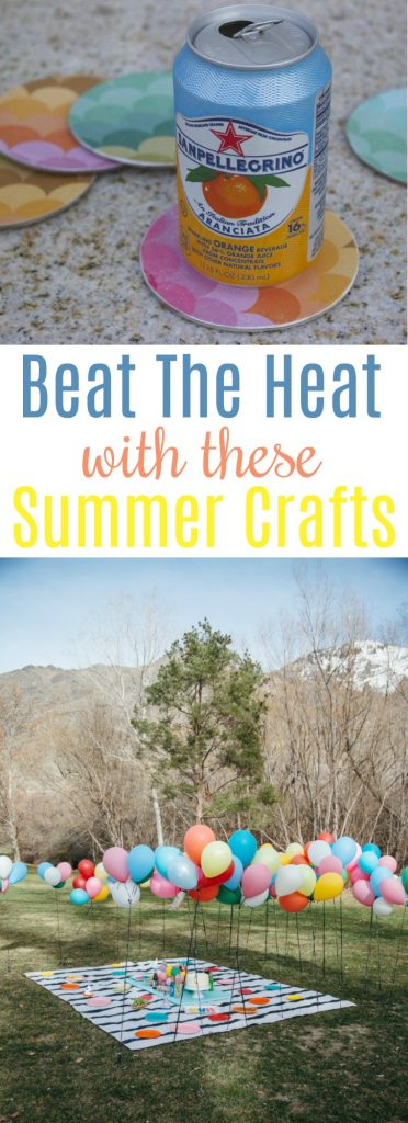 Beat The Heat With These Summer Crafts A Little Craft In