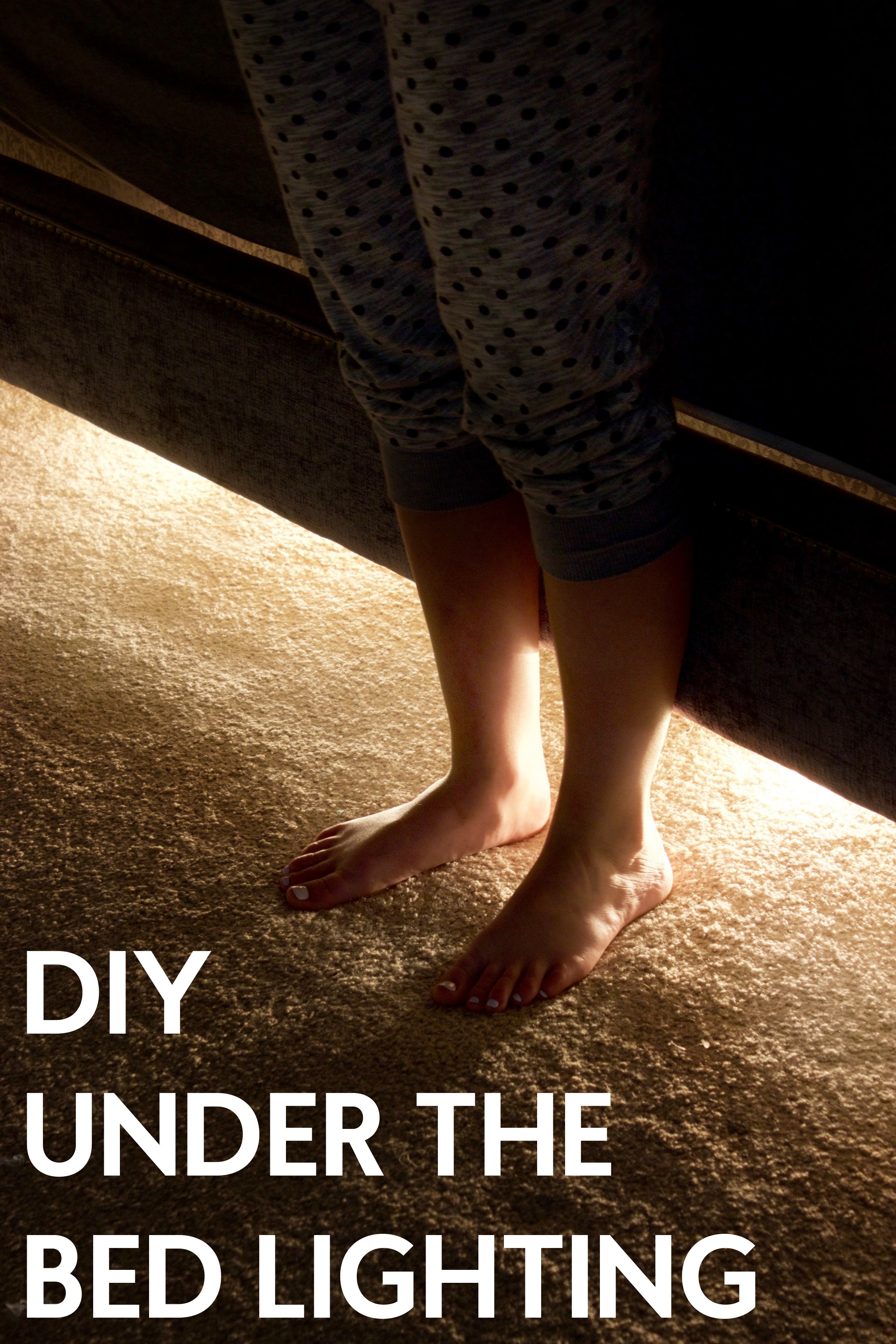 Diy Under The Bed Lighting A Little Craft In Your Daya