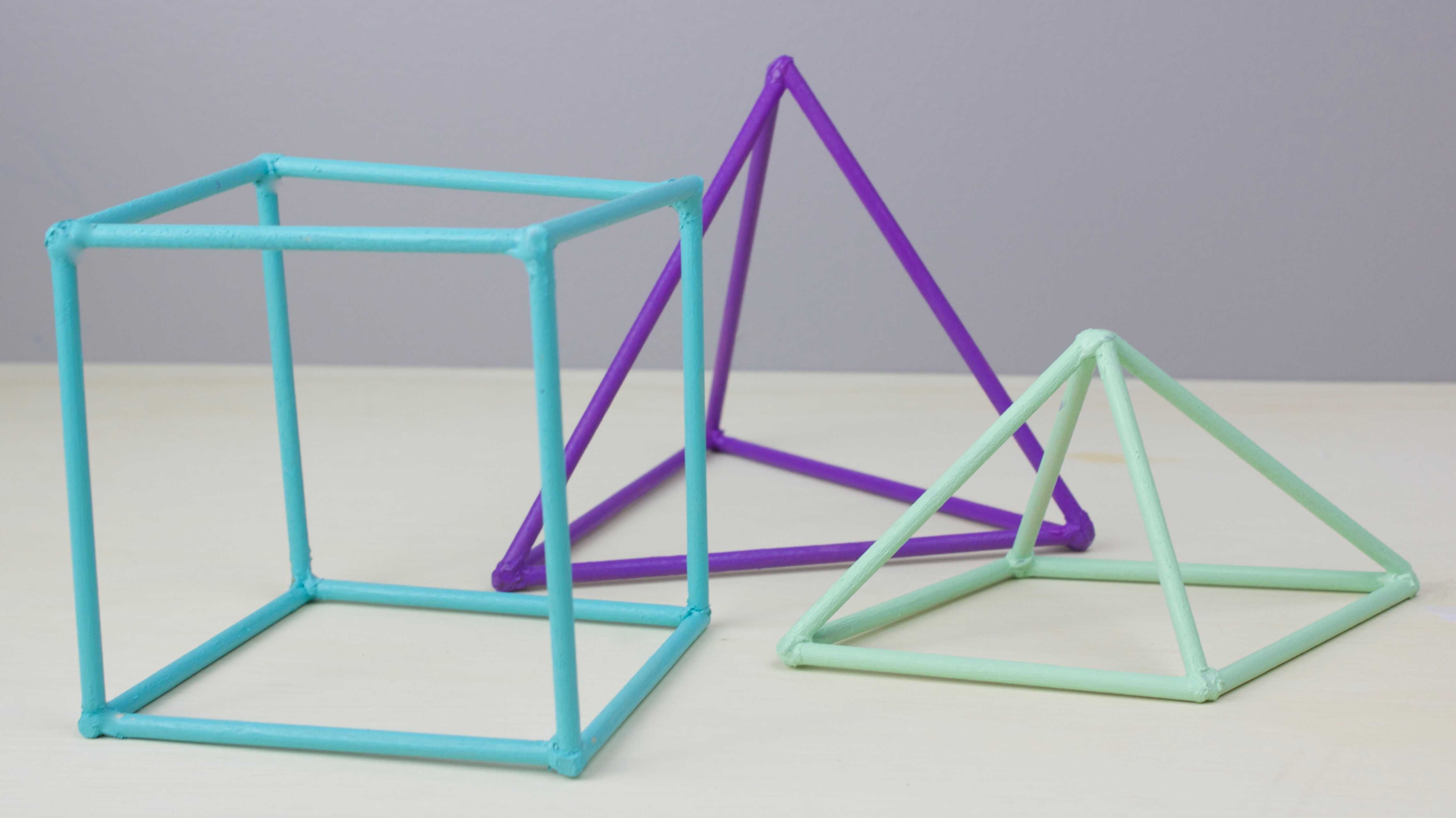 Diy 3d Geometric Shapes A Little Craft In Your Daya