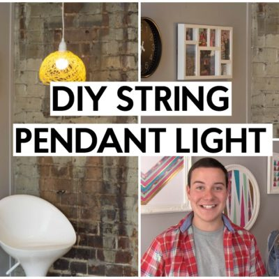 DIY Pendant Light thumbnail
