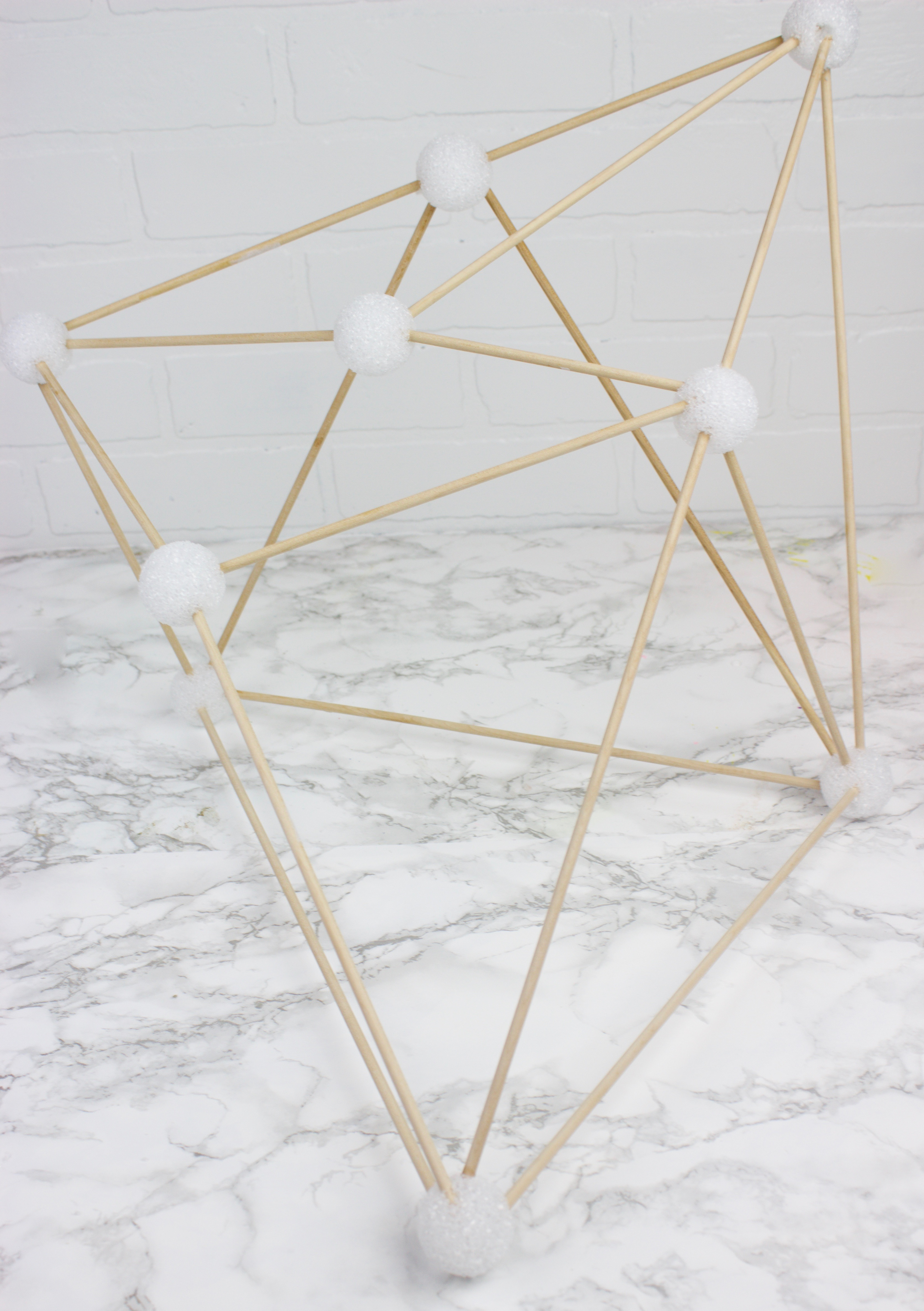 DIY Geometric Pendant Lamp - A Little Craft In Your Day for Diy Geometric Lamp  585ifm