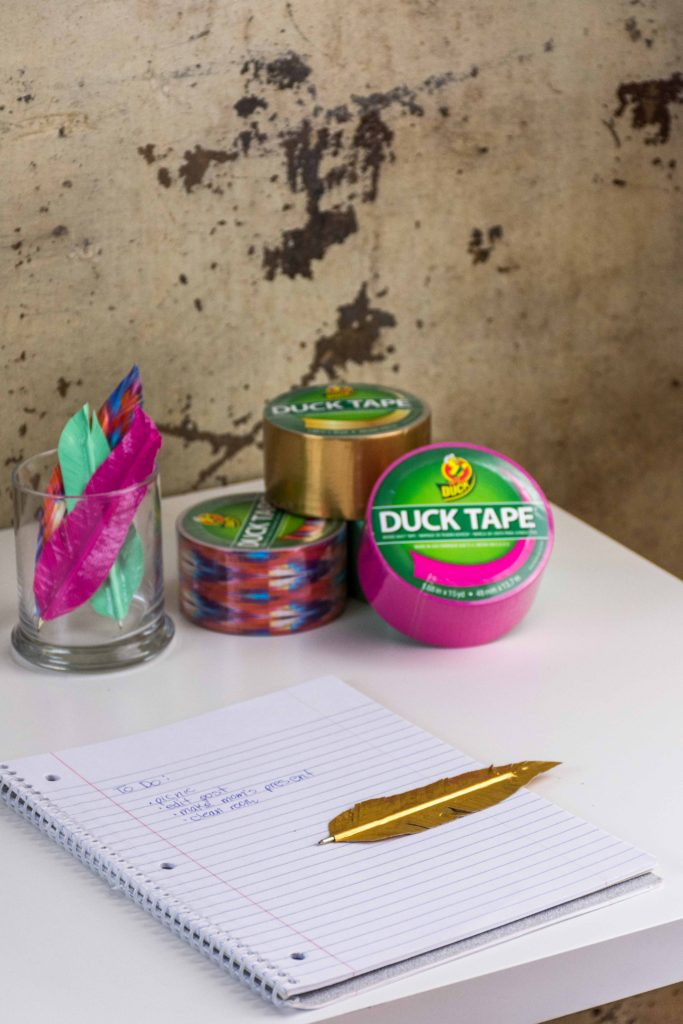 Back To School Duck Tape Crafts