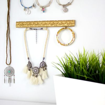 DIY Jewelry Organizer from a Thrift Store Frame thumbnail