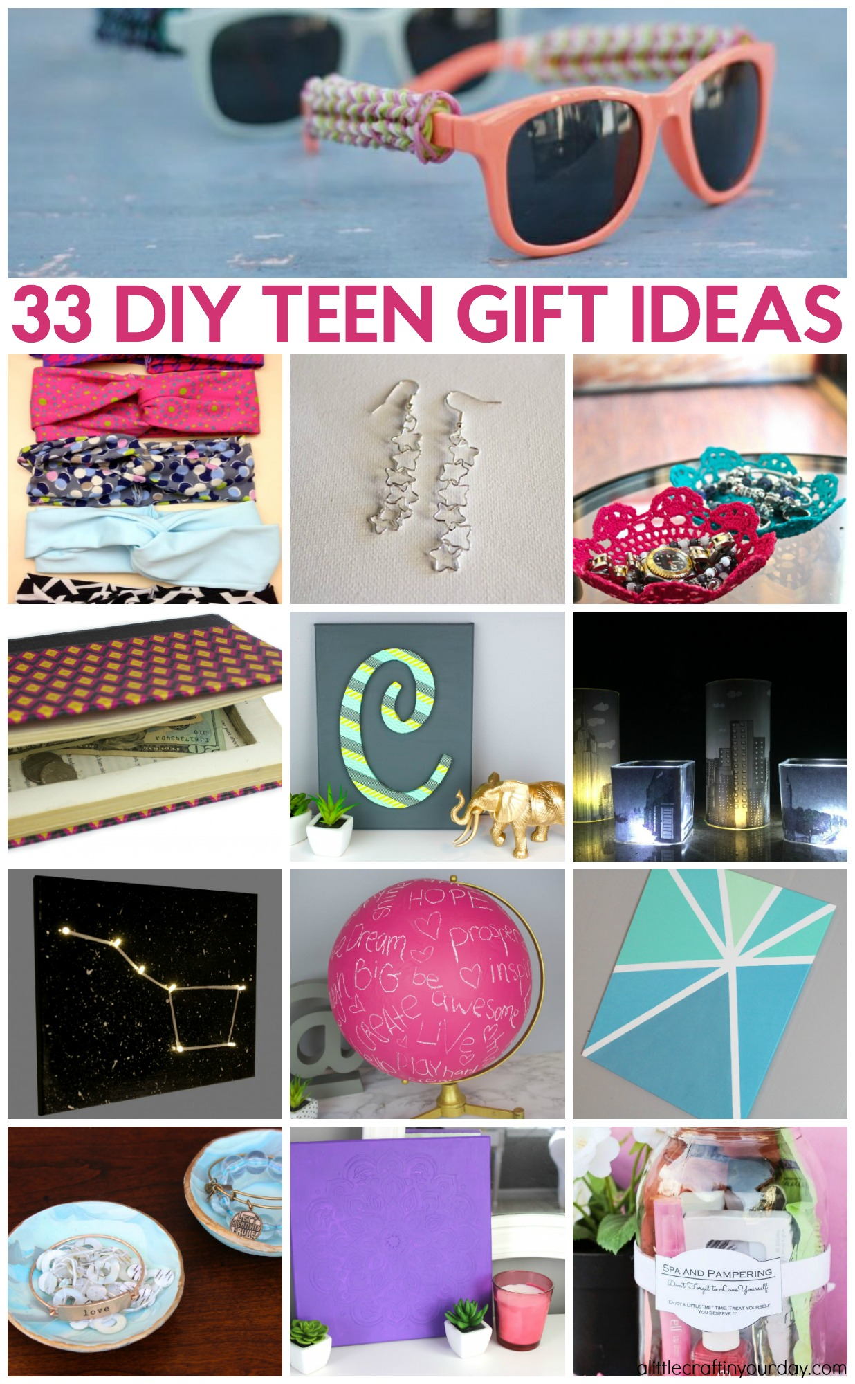 33 Diy Teen Gift Ideas A Little Craft In Your Day