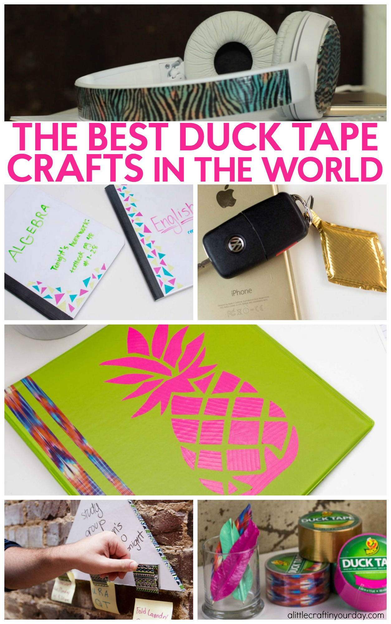 Never before seen duck tape crafts a little craft in for Duck tape craft ideas