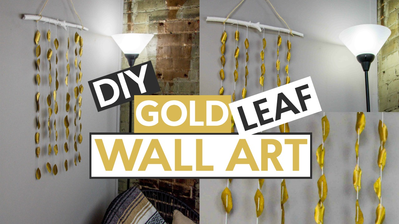 DIY Leaf and Branch Wall Art - A Little Craft In Your Day