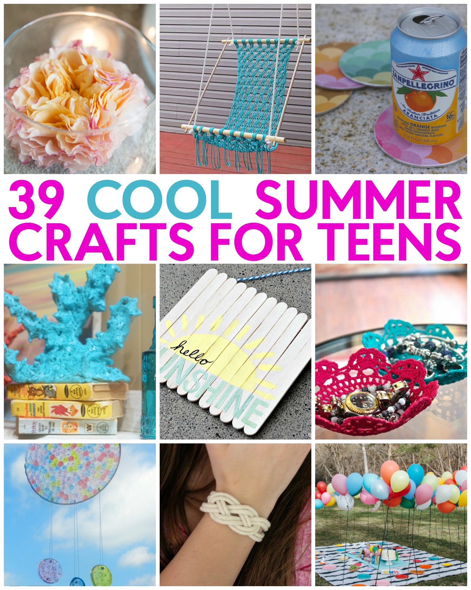 39 great teen summer crafts a little craft in your daya