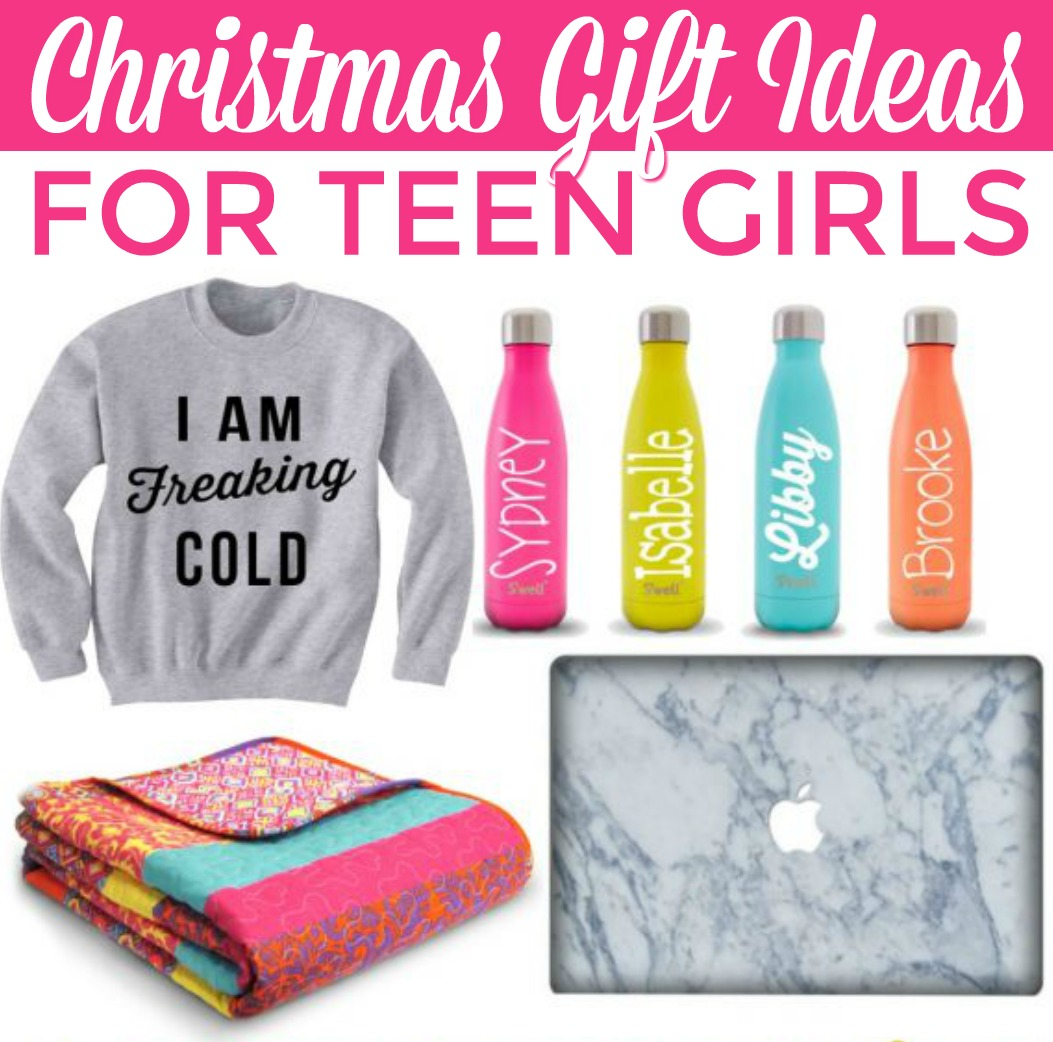 Christmas Gift Ideas for Teen Girls - A Little Craft In Your Day