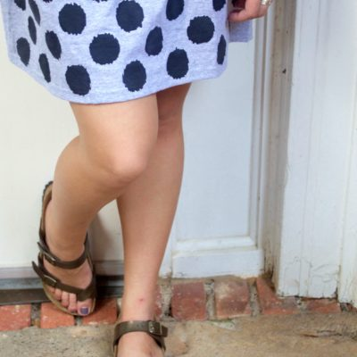 DIY Stenciled T-shirt Skirt thumbnail