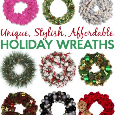 Unique, Stylish, Affordable: Holiday Wreaths You Want Now thumbnail
