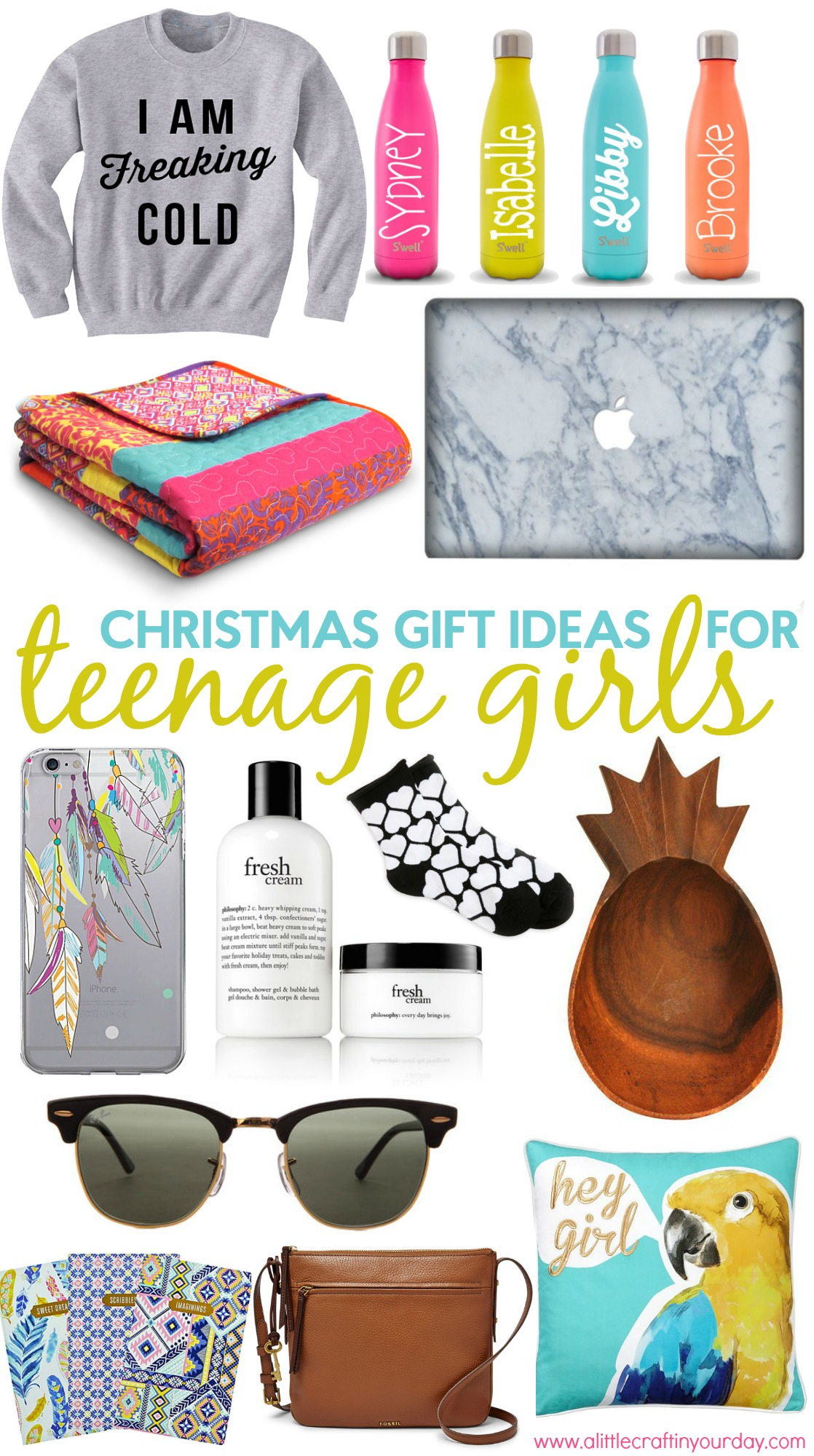 Christmas Gift Ideas For Teen Girls - A Little Craft In -8744
