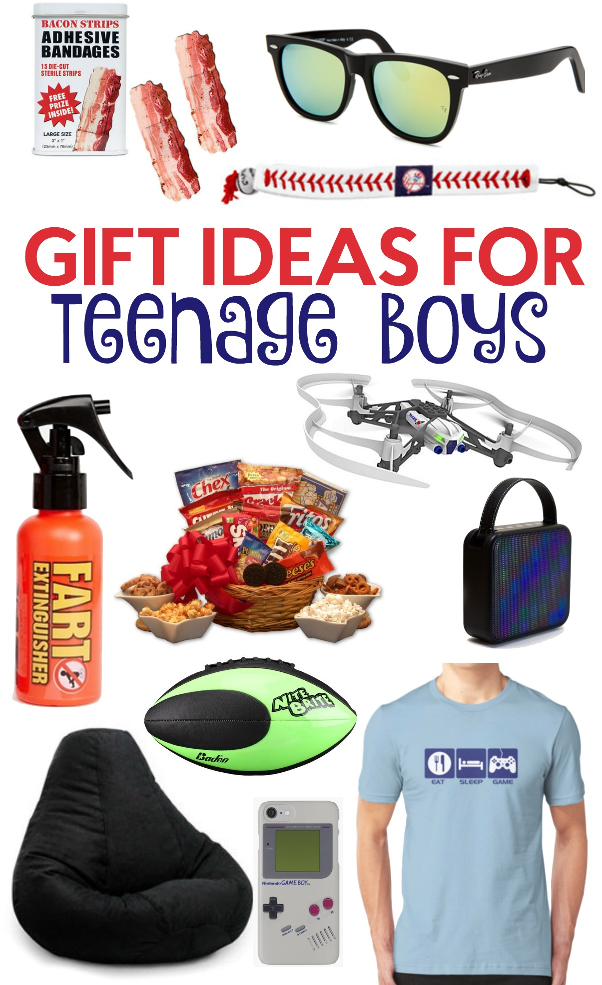 The Perfect Gift Ideas For Teen Boys - A Little Craft In ...