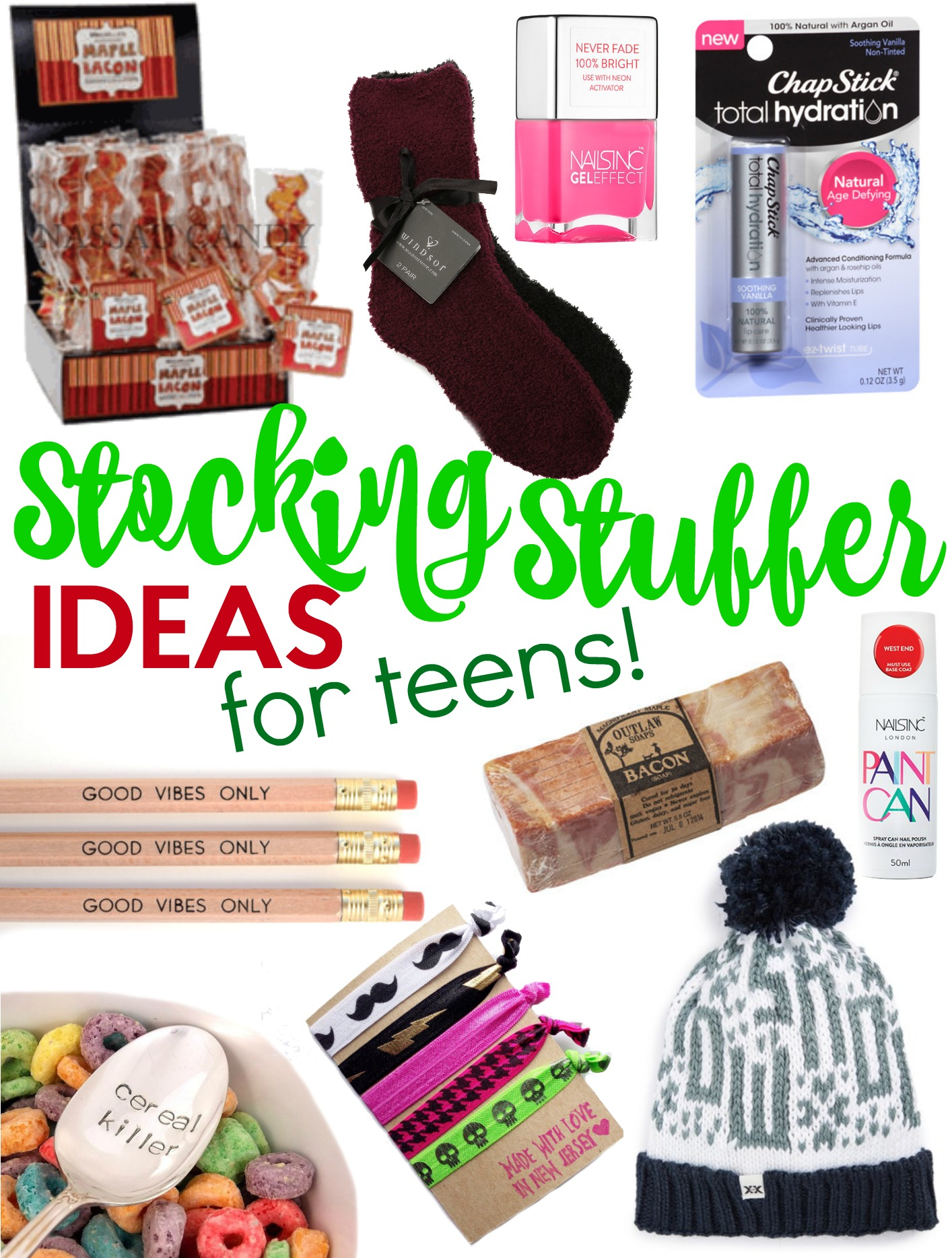 The Best Teen Stocking Stuffers - A Little Craft In Your Day-1008