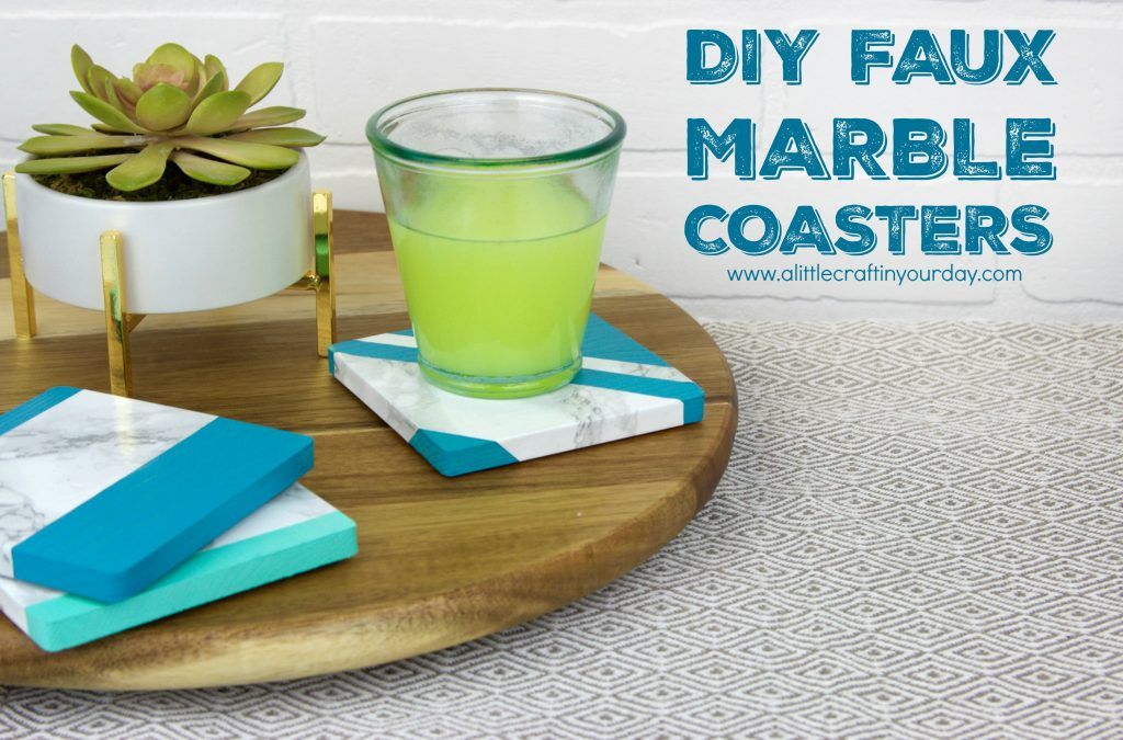 DIY_faux_marble_coasters