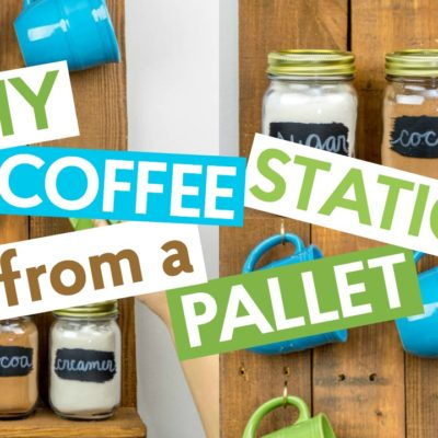 DIY Pallet Coffee Station thumbnail
