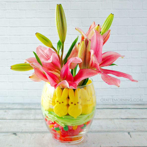 Easter Diy Candy Centerpiece A Little Craft In Your Day