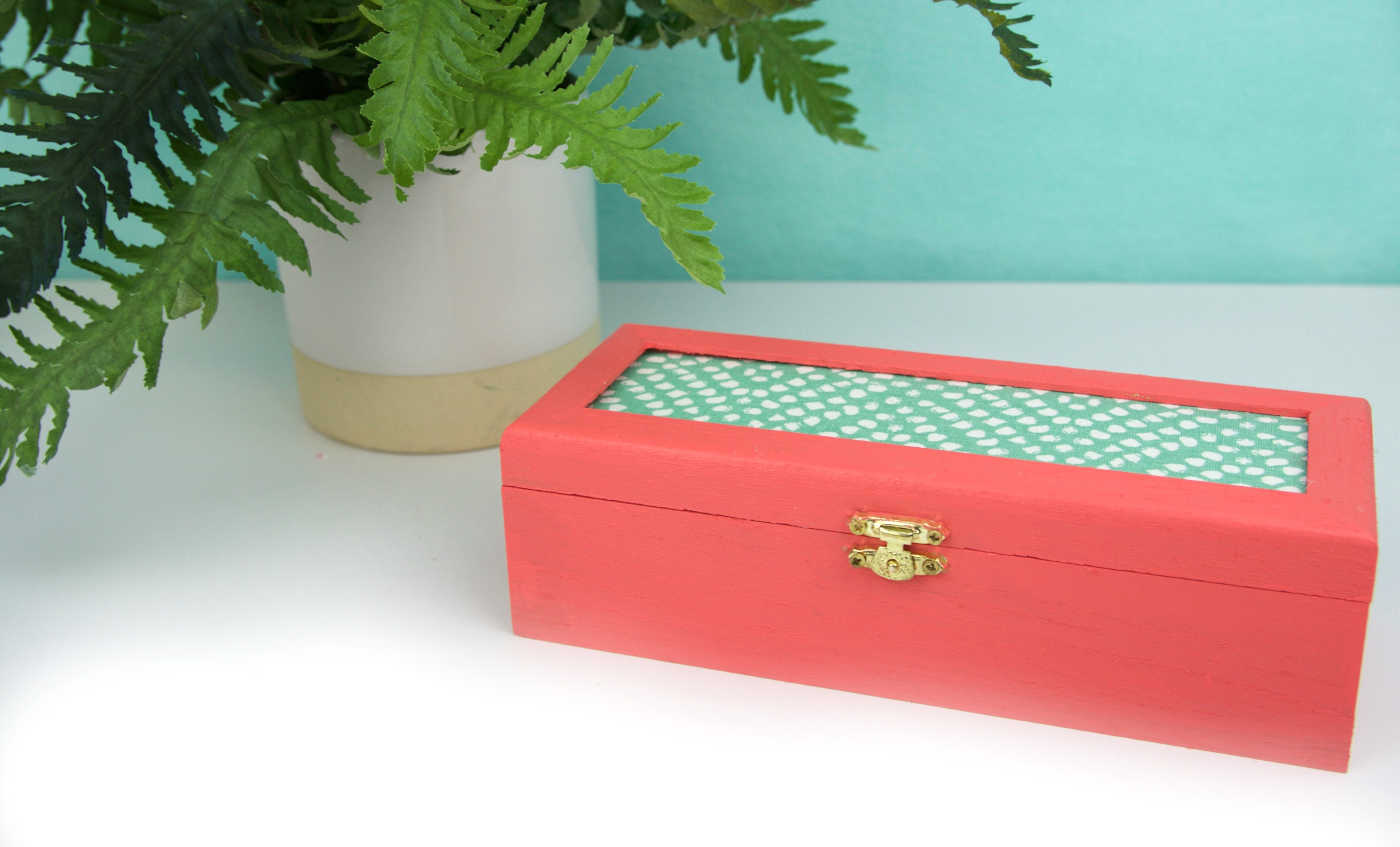 Diy Fabric Jewelry Box A Little Craft In Your Day