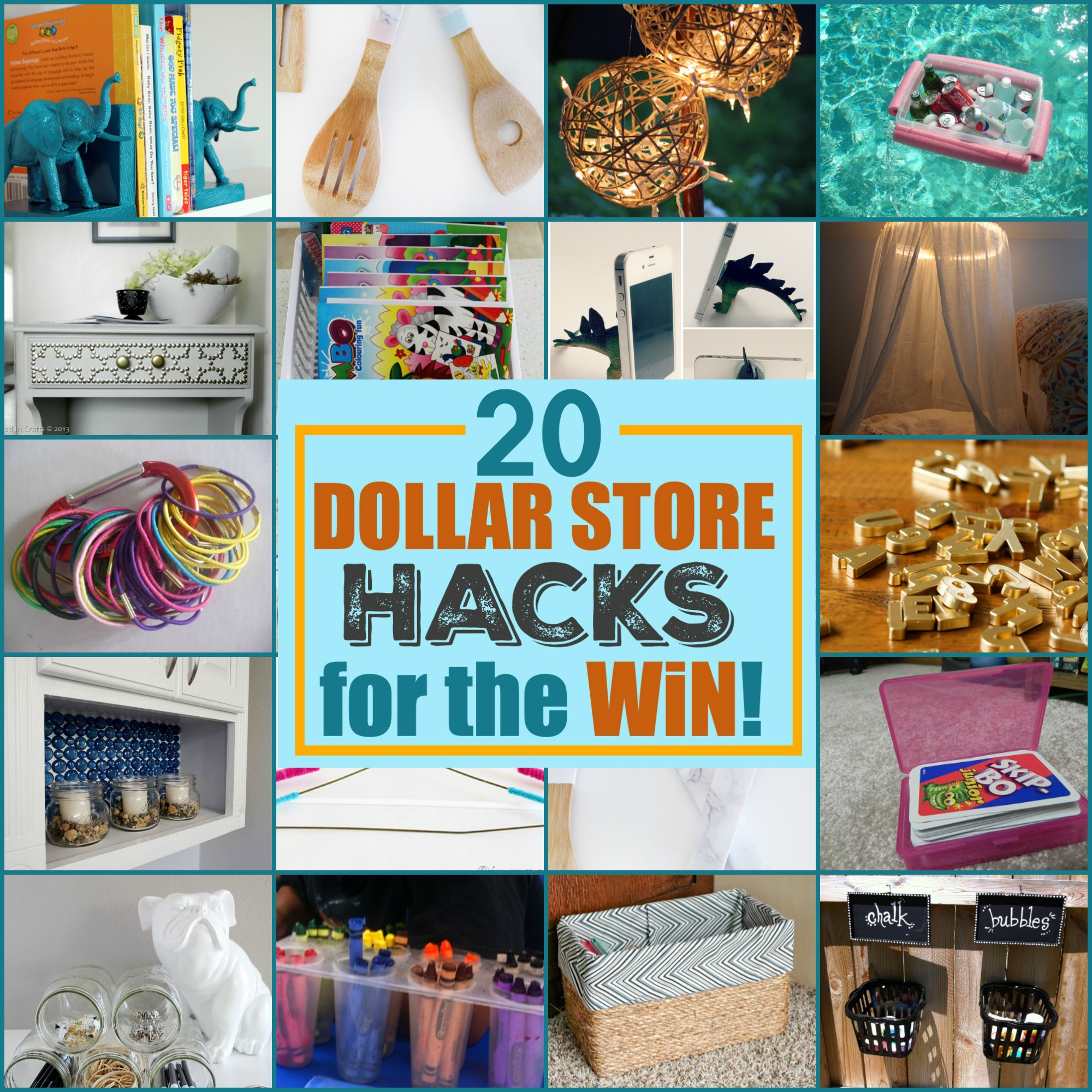 20 Dollar Store Hacks For The Win A Little Craft In Your