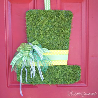 DIY Leprechaun Hat Door Hanging thumbnail