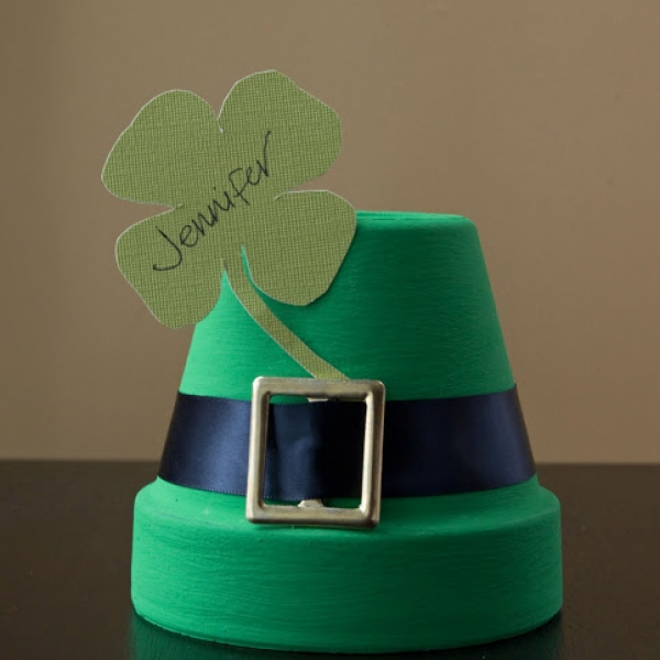 DIY St. Patty's Day Place Cards