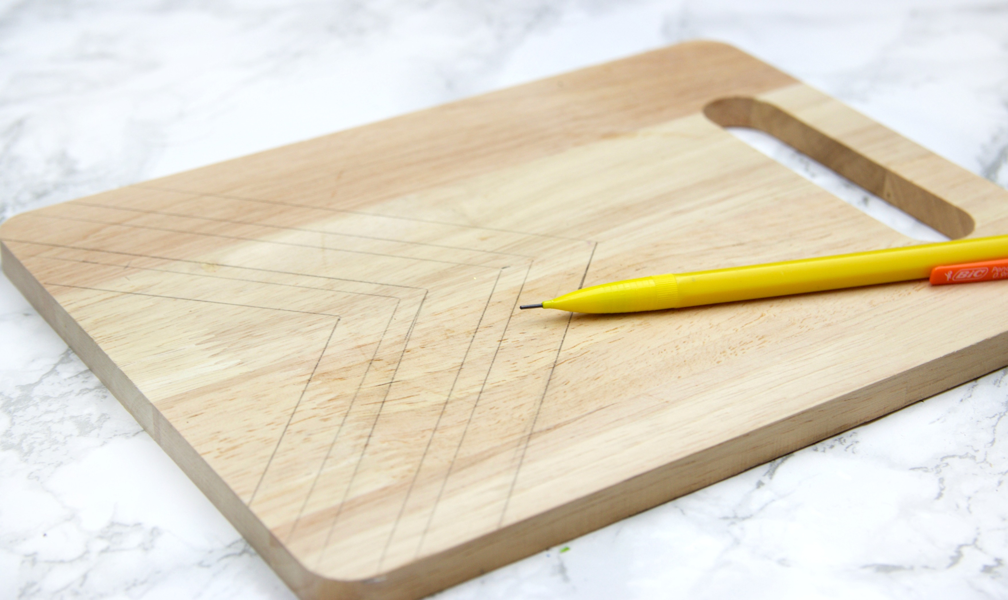 Diy Wood Burned Cutting Board A Little Craft In Your Day