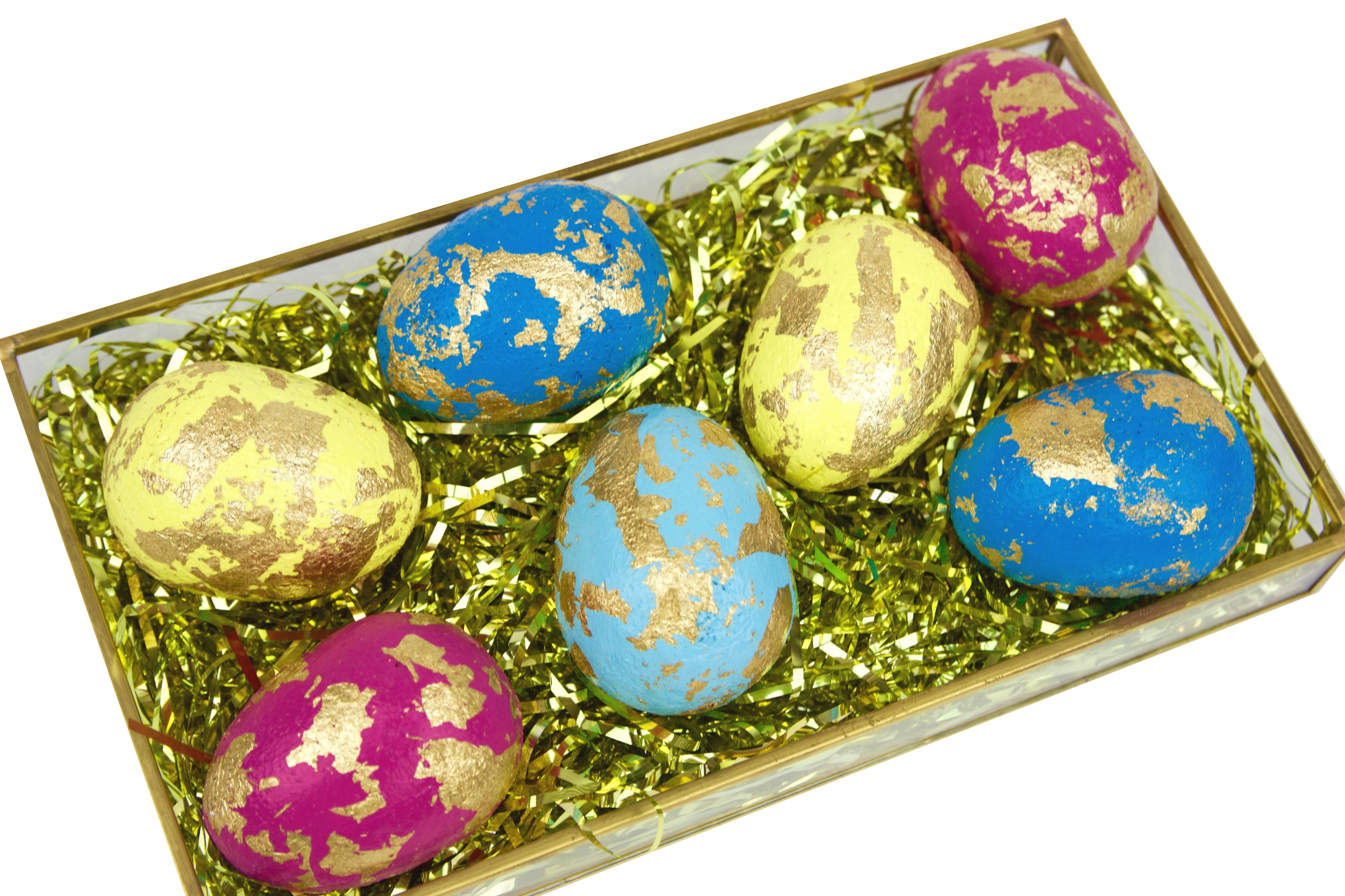 Diy gold leaf easter eggs a little craft in your day img4082 negle Choice Image