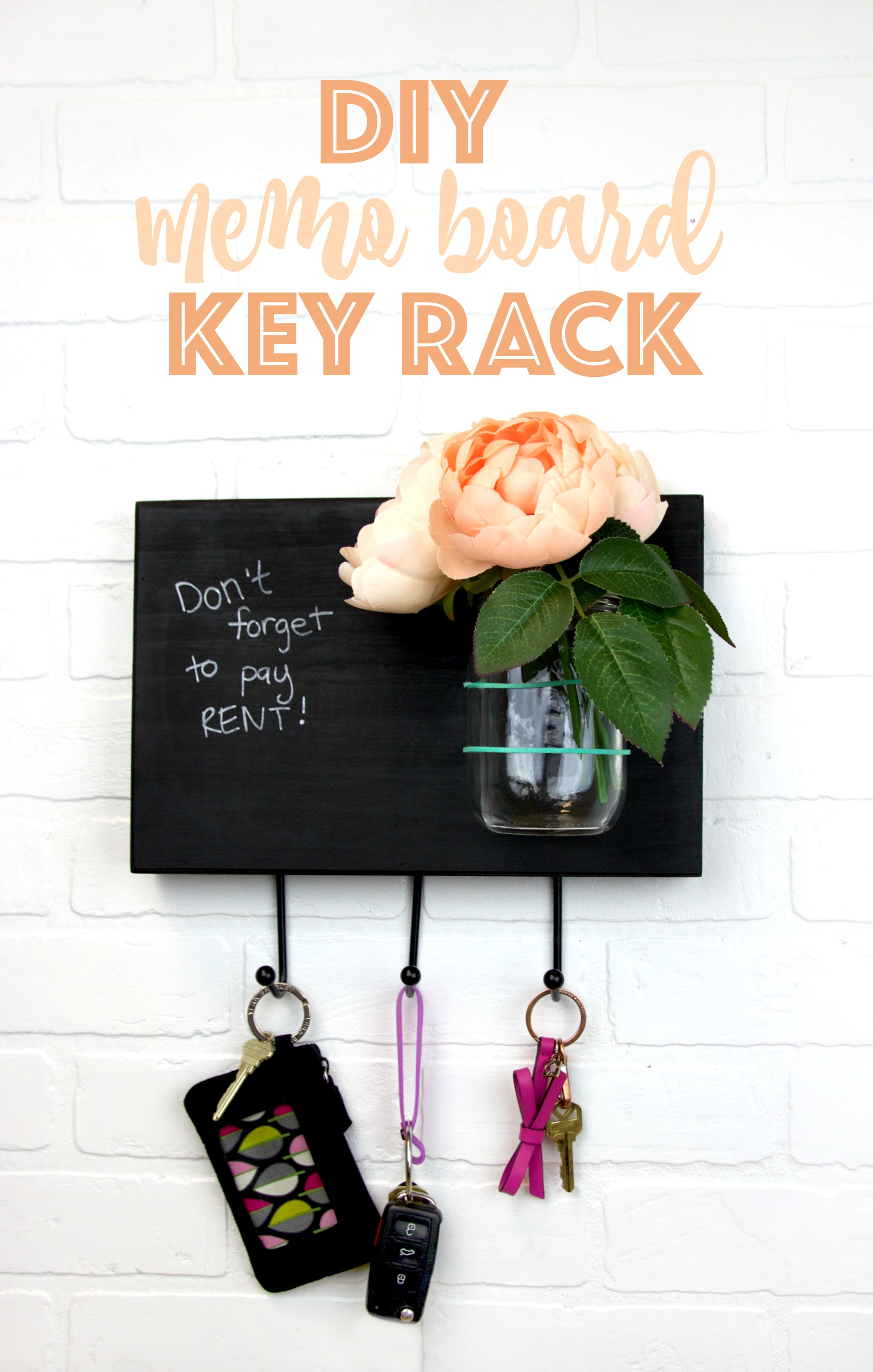 DIY_memo_board_key_rack
