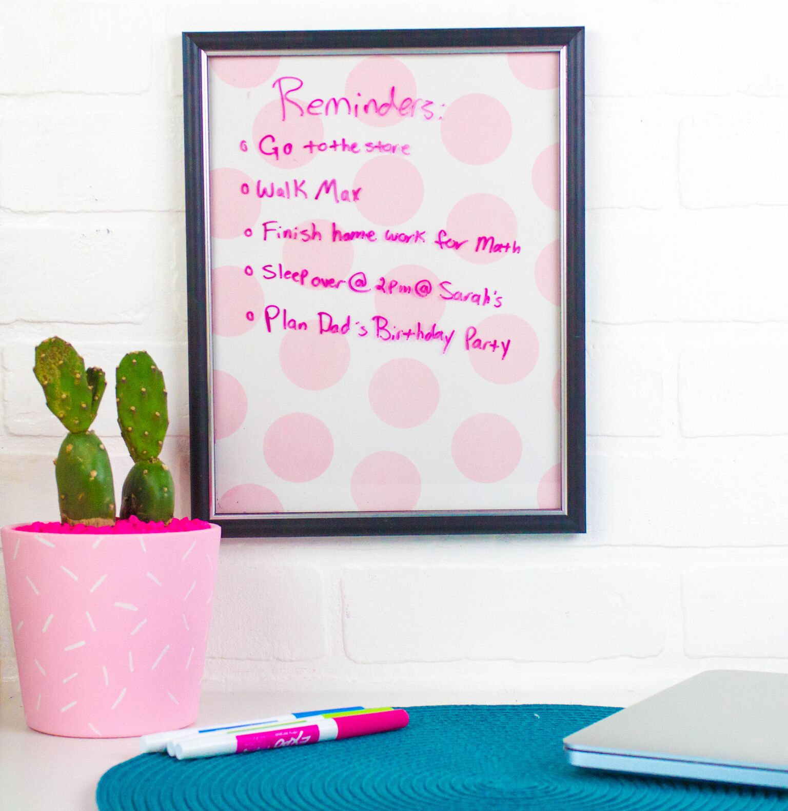 Easy DIY Dry Erase Boards