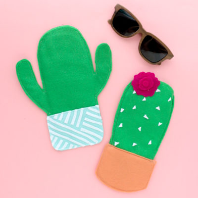 DIY Cactus Sunglasses Cases thumbnail