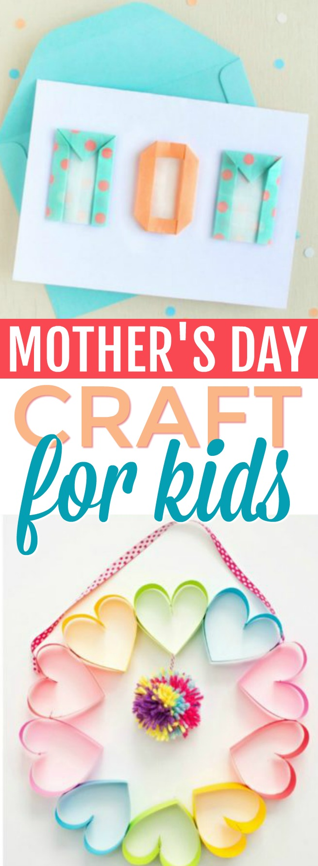 Mother S Day Crafts For Kids A Little Craft In Your Day