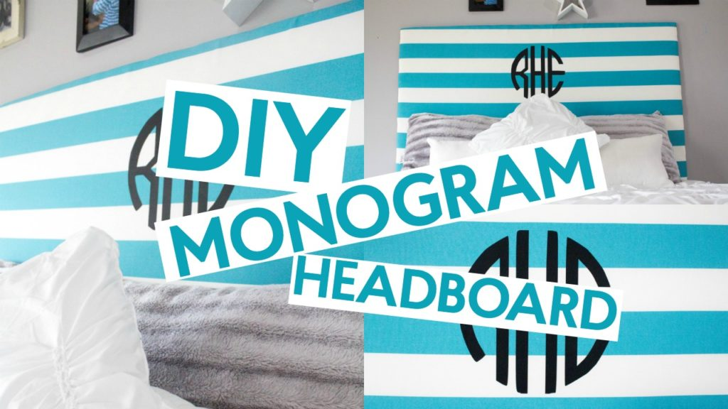Diy Monogram Headboard A Little Craft In Your Day
