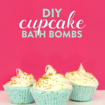 DIY Cupcake Bath Bombs thumbnail