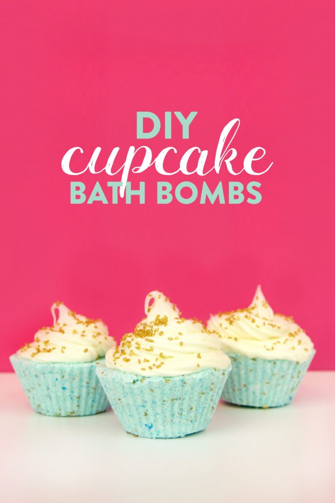 DIY Cupcake Bath Bombs - A Little Craft In Your Day