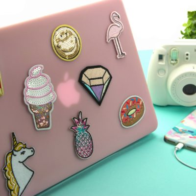 DIY Patch Laptop Case thumbnail