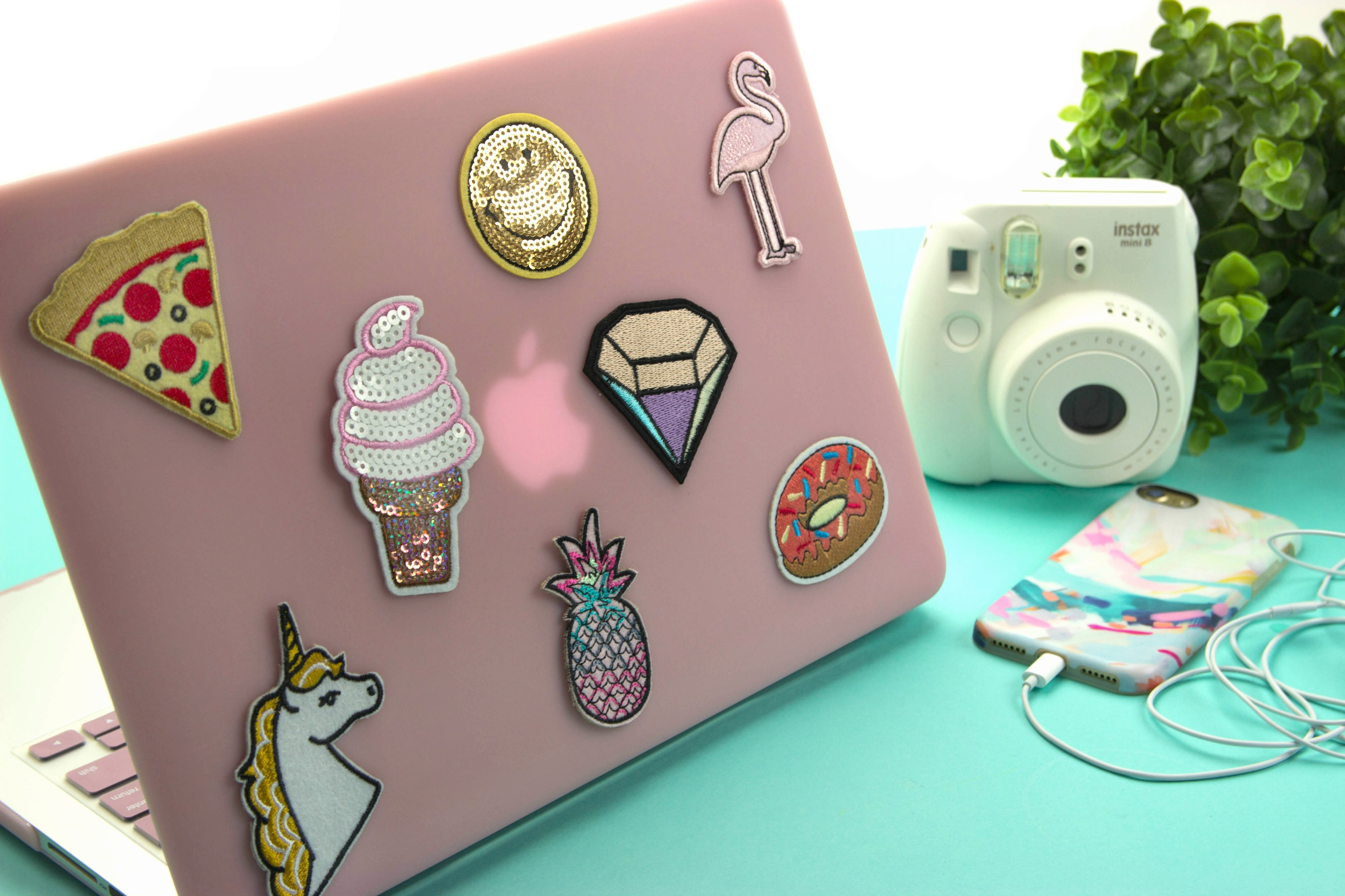DIY Patch Laptop Case