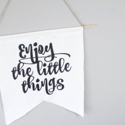 DIY Quote Canvas Banners thumbnail